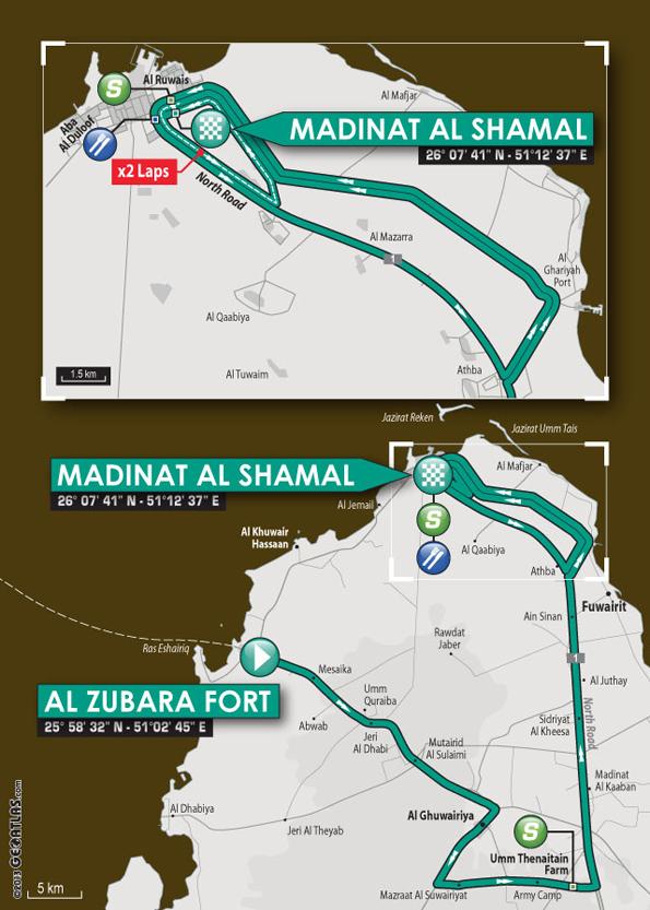 QatarSt5map