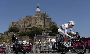 Tony Martin wins Tour de France TT at Mont-St-Michel