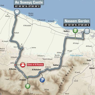 Tou of oman stage1 map