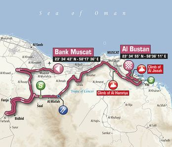Tou of oman stage3 map