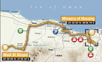 Tou of oman stage4 map
