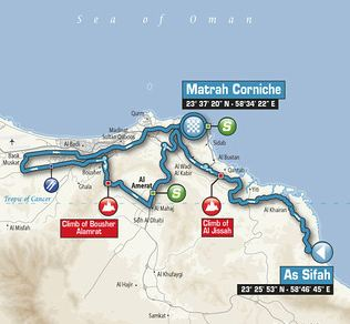 Tou of oman stage6 map