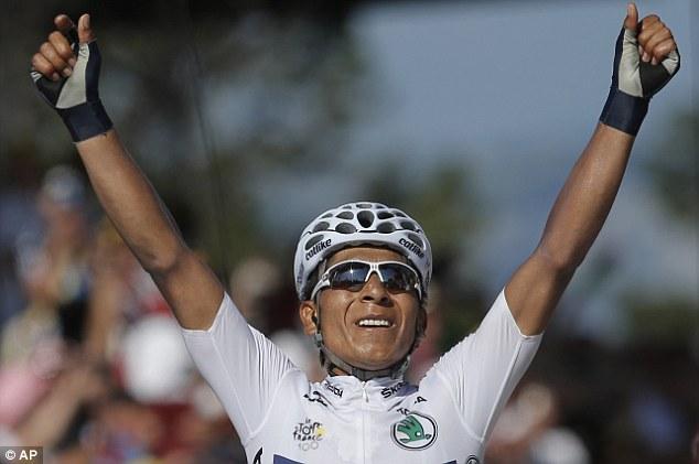 Nairo Quintana wins stage 20