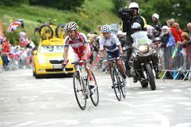 Rodriguez on L'Alpe d'Huez