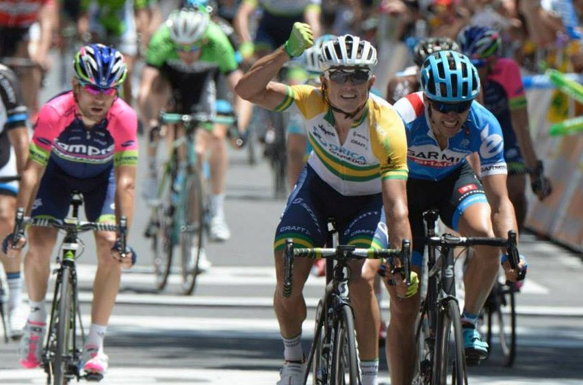 simon gerrans wins stage1 TDU
