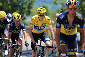 Valverde and Froome