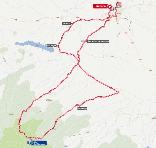 vuelta stage 11 map