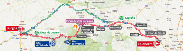 vuelta stage 17 map