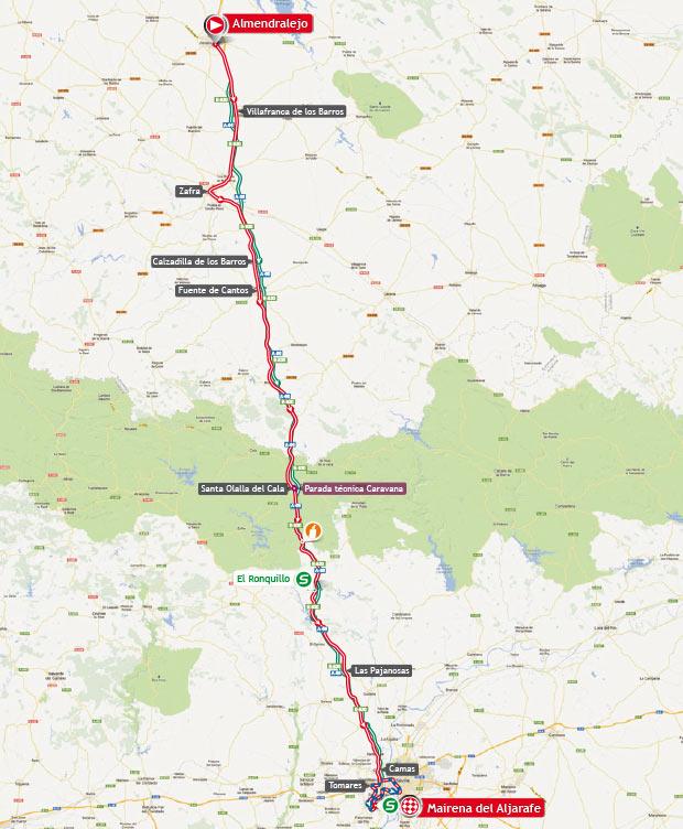 vuelta stage 7 map